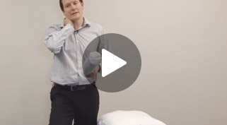 how to fix neck pain while sleeping